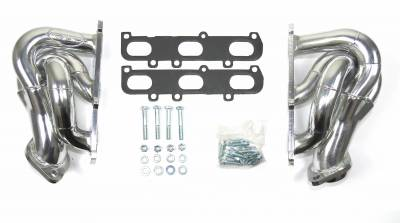 Cat4Ward Shorty - Truck & SUV - JBA Exhaust - JBA Performance Exhaust 1682SJS Header Shorty Stainless Steel 2011-17 Ford Truck 3.5/3.7L N/A V6 Silver Ceramic