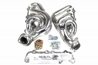 Cat4Ward Shorty - Truck & SUV - JBA Exhaust - JBA Performance Exhaust 1683SJS Header Shorty Stainless Steel 15-19 Ford Truck F-150 5.0L Silver Ceramic