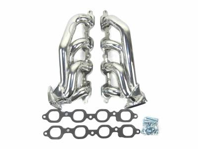 "Cat4Ward Shorty - Truck & SUV - JBA Exhaust - JBA Performance Exhaust 1850S-5JS 1 5/8"" Header Shorty Stainless Steel 2019-2020 Chevy/GMC 1500 5.3/6.2L (L82-L84/L87) metallic ceramic coated"