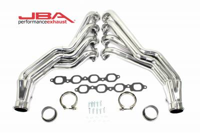 "Long Tube - Automotive - JBA Exhaust - JBA Performance Exhaust 6816SJS 1 7/8"" Header Long Tube Stainless Steel 2016-2020 Camaro SS,ZL1 Silver Ceramic"