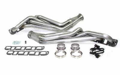"Long Tube - Automotive - JBA Exhaust - JBA Performance Exhaust 6966S 1 7/8"" Header Long Tube Stainless Steel 08-2020 Challenger 5.7/6.1/6.2/6.4L 05-2020 Charger/300C/Magnum 5.7/6.1/6.2/6.4L"
