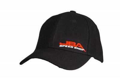 Style 4 - JBA SPEEDSHOP Red/White Small Logo - Front