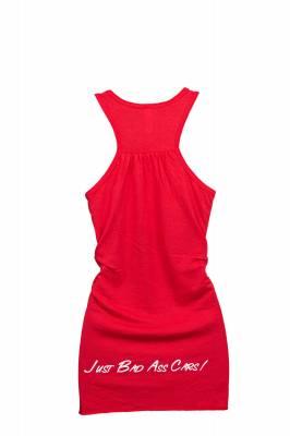JBA Womens Red Tank - Back