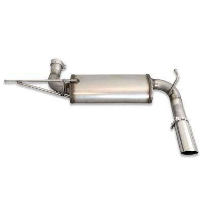 Exhaust Systems - Truck & SUV - JBA Exhaust -  JBA Headers 30-1509 - JBA Headers Exhaust Systems, 07-18 JEEP JK Wrangler Axle Back 304SS