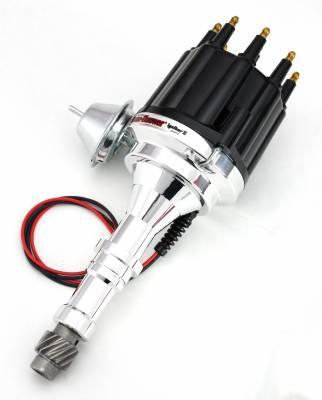 Dist Billet Buick V8 400-455 Vac Blk Male Cap