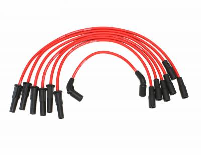 PerTronix Ignition Products - PerTronix Spark Plug Wires - PerTronix Ignition Products - Wires, 6 cyl GM Custom Fit Red