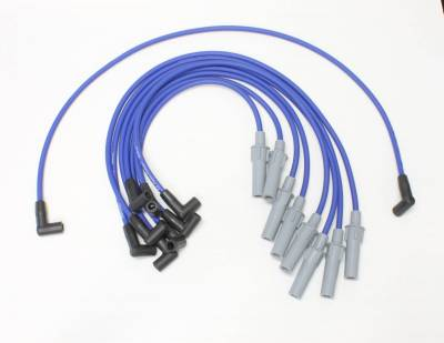 PerTronix Ignition Products - PerTronix Spark Plug Wires - PerTronix Ignition Products - Wires, 8 cyl Dodge Custom Fit Blue