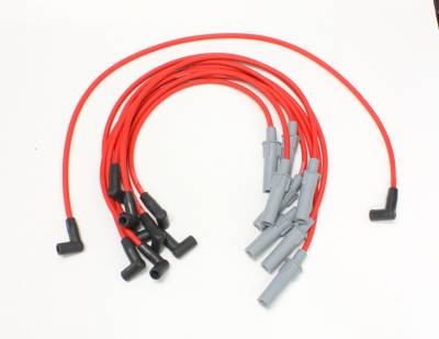 PerTronix Ignition Products - PerTronix Spark Plug Wires - PerTronix Ignition Products - Wires, 8 cyl Dodge Custom Fit Red