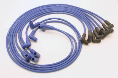 PerTronix Ignition Products - PerTronix Spark Plug Wires - PerTronix Ignition Products - Wires, 8cyl Custom blue 74-82 Vette