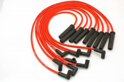 PerTronix Ignition Products - PerTronix Spark Plug Wires - PerTronix Ignition Products - Wires, 8cyl GM Custom Fit red