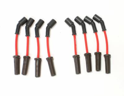 PerTronix Ignition Products - PerTronix Spark Plug Wires - PerTronix Ignition Products - Wires, 8 cyl GM Custom Fit Red