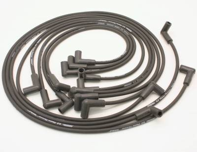PerTronix Ignition Products - PerTronix Spark Plug Wires - PerTronix Ignition Products - Wires, 8cyl Custom black 74-82 Vette
