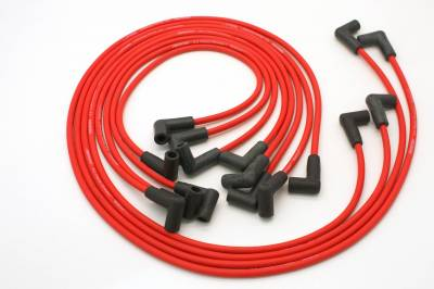PerTronix Ignition Products - PerTronix Spark Plug Wires - PerTronix Ignition Products - Wires, 8cyl Custom red 74-82 Vette