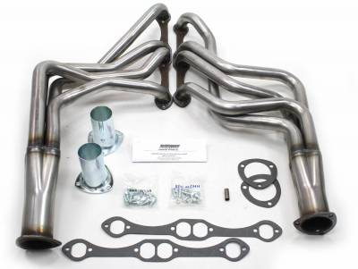 Patriot Headers - Patriot Specific Fit Headers - Patriot Exhaust Products - 67-87 GM F, G, A Body SBC Long Tube Raw