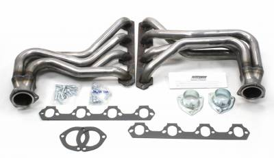 Patriot Exhaust Products - 27-34 Street Rod 260-351W Long Tube Raw
