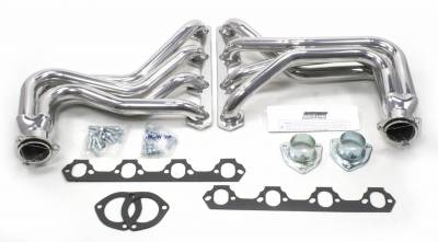 Patriot Exhaust Products - 27-34 Street Rod 260-351W Long Tube Slvr