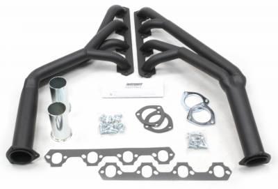 Patriot Headers - Patriot Full Length & Fenderwell Headers - Patriot Exhaust Products - 64-70 Mustang Tri Y Hi Temp Black Coated