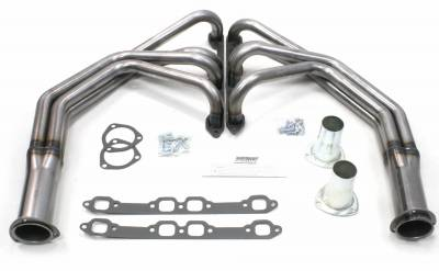 Patriot Headers - Patriot Full Length & Fenderwell Headers - Patriot Exhaust Products - 53-64 Ford F-100 Long Tube Raw Steel