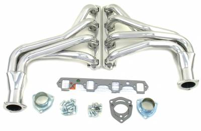Patriot Headers - Patriot Full Length & Fenderwell Headers - Patriot Exhaust Products - 65-79 Ford F-100/F-150 Long Tube Silver