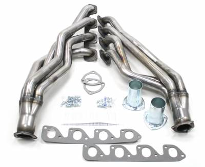 Patriot Headers - Patriot Full Length & Fenderwell Headers - Patriot Exhaust Products - 67-71 Various Ford 351C 2V Long Tube Raw