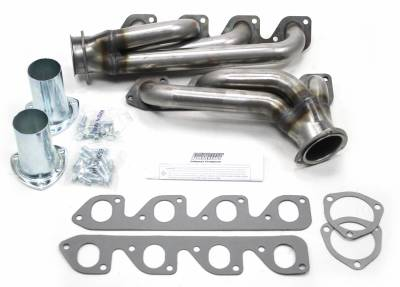 Patriot Headers - Patriot Clippster Headers - Patriot Exhaust Products - 34-48 Street Rod 351C 2V Mid Length Raw