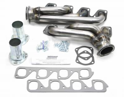 Patriot Headers - Patriot Clippster Headers - Patriot Exhaust Products - 34-48 Street Rod 351C 4V Mid Length Raw