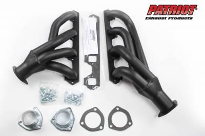 Patriot Headers - Patriot Clippster Headers - Patriot Exhaust Products - 60-65 Falcon/Ranchero Mid Length Black