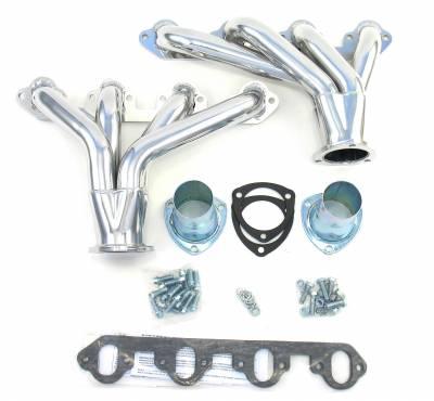Patriot Headers - Patriot Tight Tuck Headers - Patriot Exhaust Products - Street Rod 426/460 Tight Tuck Silver
