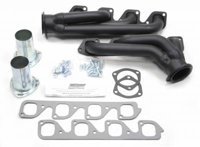 Patriot Headers - Patriot Clippster Headers - Patriot Exhaust Products - Hdr Str Rod Univ 351C Blk