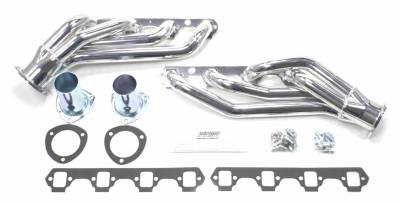Patriot Headers - Patriot Clippster Headers - Patriot Exhaust Products - 64-77 Various Ford SBF Mid Length Silver