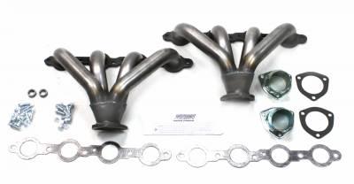 Patriot Headers - Patriot Tight Tuck Headers - Patriot Exhaust Products - Street Rod LS Tight Tuck Raw Steel
