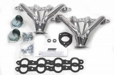 Patriot Headers - Patriot Tight Tuck Headers - Patriot Exhaust Products - Street Rod LS Tight Tuck Silver Ceramic
