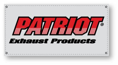 Patriot Headers - Patriot Clippster Headers - Patriot Exhaust Products - 67-88 F, G, A Body SBC Mid Length Black