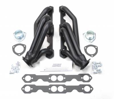 Patriot Headers - Patriot Clippster Headers - Patriot Exhaust Products - 82-02 S-10 SBC Shorty Black Ctd