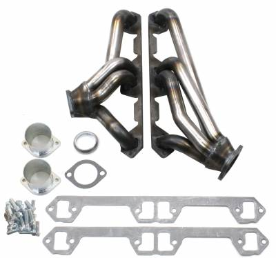 Patriot Headers - Patriot Clippster Headers - Patriot Exhaust Products - 68-91 Various AMC 290-401 Mid Length Raw