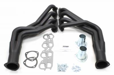 Patriot Headers - Patriot Specific Fit Headers - Patriot Exhaust Products - 67-9 Camaro 68-74 Nova SBC Long Tube Blk
