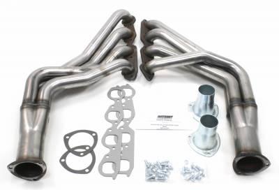 Patriot Headers - Patriot Specific Fit Headers - Patriot Exhaust Products - 67-9 Camaro 68-74 Nova SBC Long Tube Raw