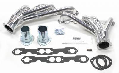 Patriot Headers - Patriot Clippster Headers - Patriot Exhaust Products - 82-92 Camaro SBC Mid Length Silver