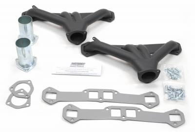 Patriot Headers - Patriot Tight Tuck Headers - Patriot Exhaust Products - Street Rod LS Tight Tuck Hi Temp Black