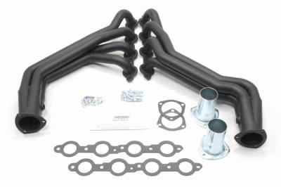 Patriot Exhaust Products - 07-13 GM Truck Long Tube Black