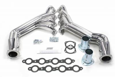 Patriot Exhaust Products - 07-13 GM Truck Long Tube Silver