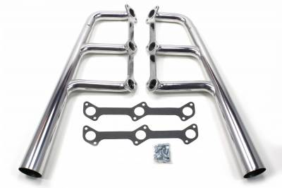 Patriot Headers - Patriot Lakester Headers - Patriot Exhaust Products - Street Rod Flathead Trad Lakester Silver