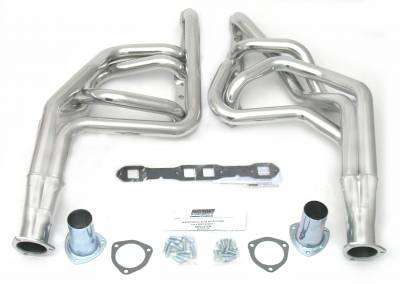 Patriot Headers - Patriot Full Length & Fenderwell Headers - Patriot Exhaust Products - 65-78 Various Chry 383-400 Lng Tube Slvr