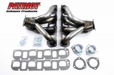 Patriot Headers - Patriot Tight Tuck Headers - Patriot Exhaust Products - Street Rod GEN III Hemi Tight Tuck Raw