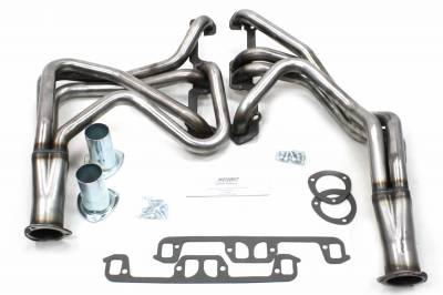 Patriot Headers - Patriot Full Length & Fenderwell Headers - Patriot Exhaust Products - 67-80 Various Chry 273-360 Long Tube Raw