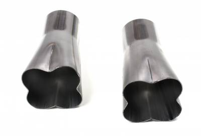 """Patriot Exhaust Products - 4-1 Formed Collector 2 1/2"""""""