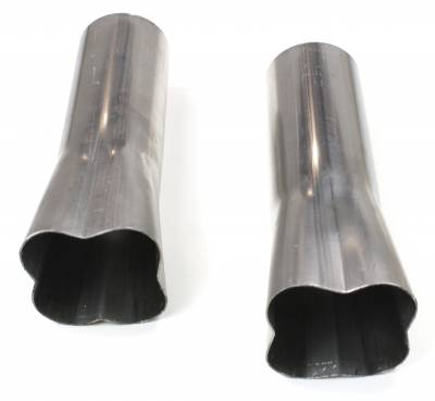 """Patriot Exhaust Products - 4-1 Formed Collector 3 1/2"""""""
