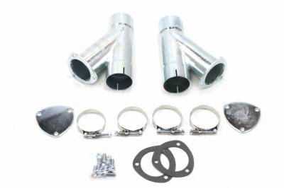 Patriot Exhaust H1132 Exhaust Cut-Out Hookup Kit 3 Inch Pair