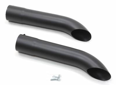 Patriot Exhaust Components - Patriot Exhaust Turn Outs - Patriot Exhaust Products - Exhaust Turnout Blk