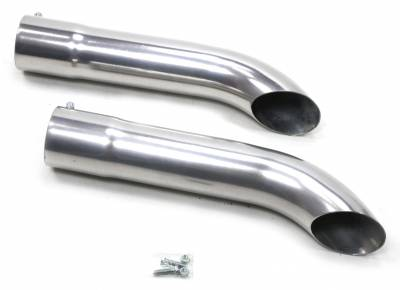 Patriot Exhaust Components - Patriot Exhaust Turn Outs - Patriot Exhaust Products - Side Tubes Turnout Muffler Ctd